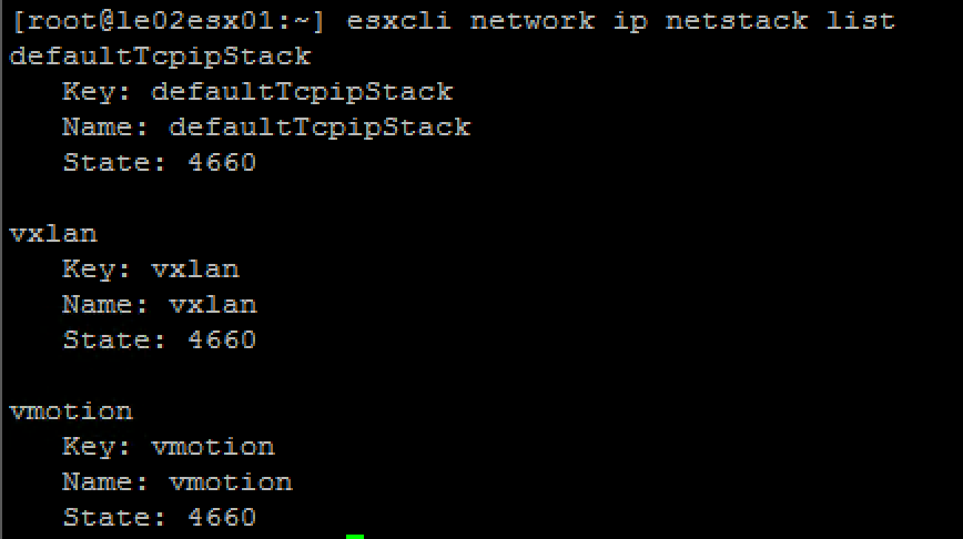 How to do the ESXi VMkernel PING: Unknown interface: Invalid