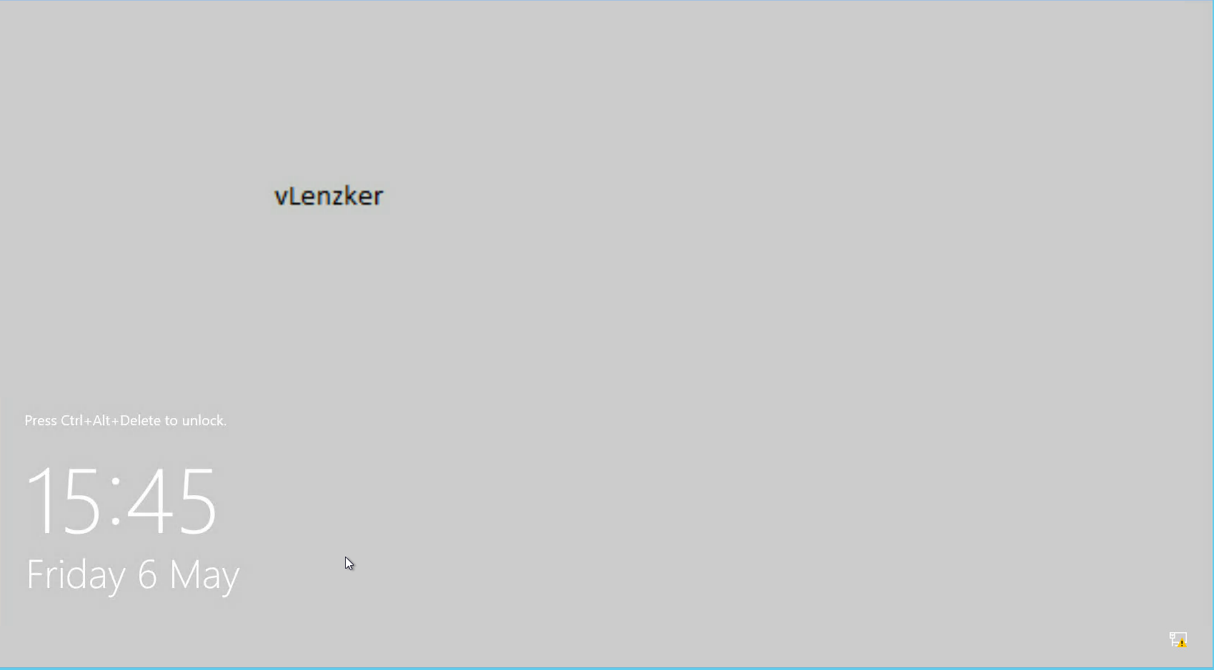 vSphere console: black screen on Windows 10 & Windows 2012