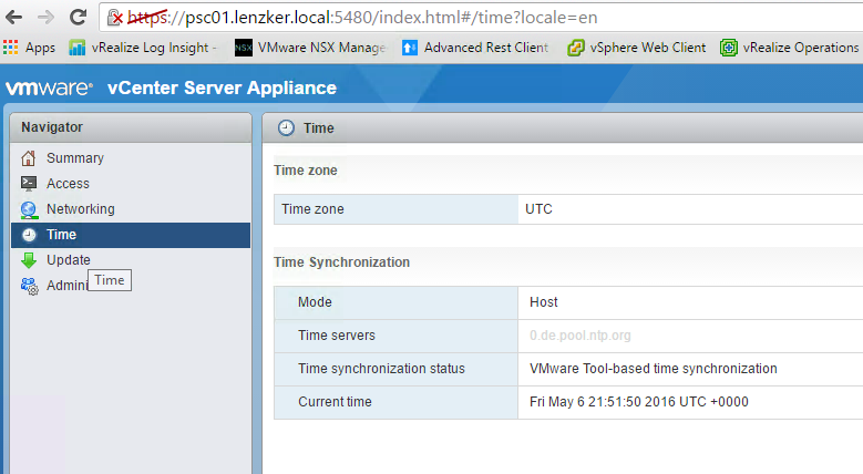 A server error occured [400] or vCenter Server 'once upon a