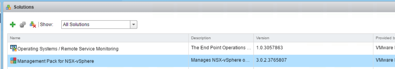 Let's discover #vROPS Management Pack for #NSX – vLenzker