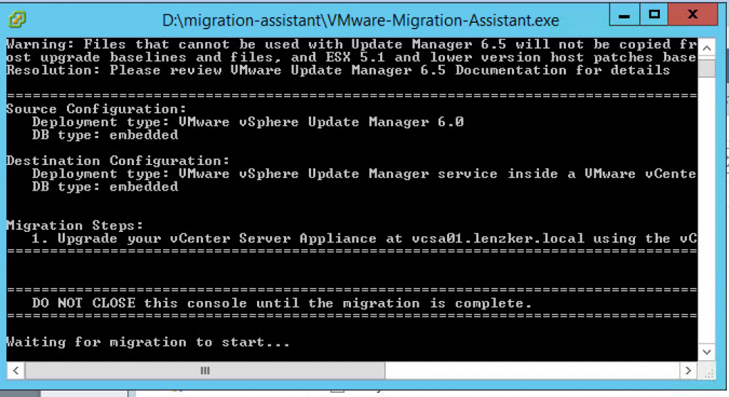 updateManagerMigrationassistant