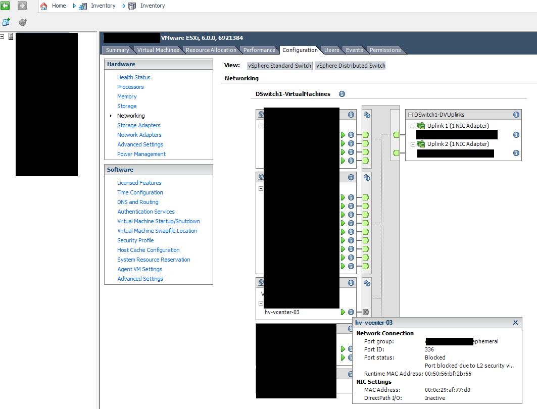 vCenter Server Appliance Migration fails at 50%: shutting